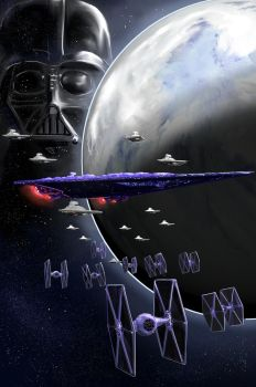 Vader Mighty Fleet On Hoth by pyraker