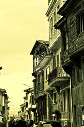 old houses by ogzsnl
