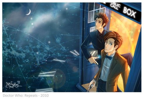 Doctor Who - Repeats by OrneryJen