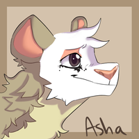 Asha icon (1/2) by compwession