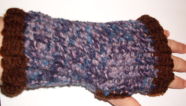 Fingerless Gloves by tabby25