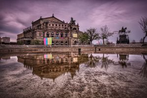 Semperoper Dresden by Stefan-Becker