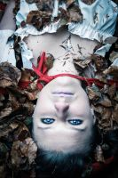 Dead Red Riding Hood in the Woods.. by AdnanWolf