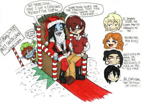 Christmas Silliness by avi17