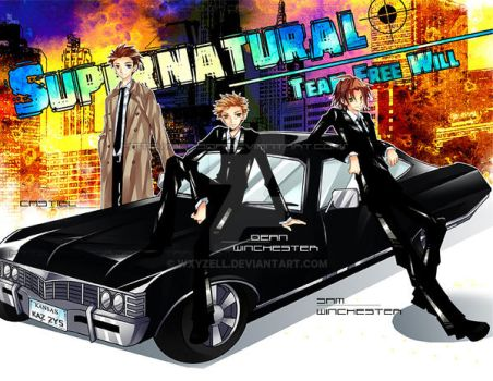Team Free Will by WXYZell