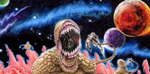 Massacre at Outpost 31, partial scan. by Shawn-Langley