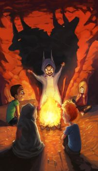 Campfire Tales - Lucidity Game Art by Sketch-Geek