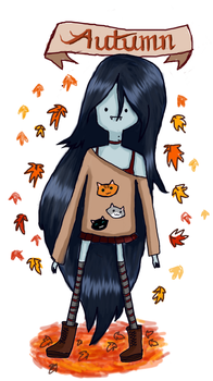 Marceline Autumn Outfit by CutieMcButt