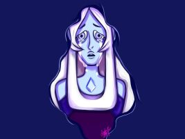Blue Diamond Wallpaper (w/tears and w/out shadow) by PinkSakuraFlower1