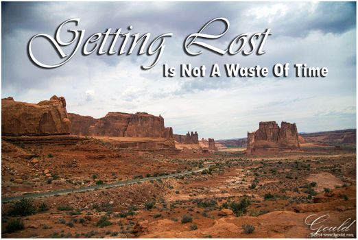 Getting Lost Photo Art by ThisWomanWanders