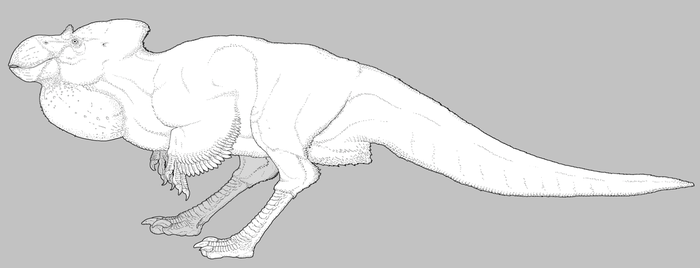 Robust Dinosauroid by nemo-ramjet