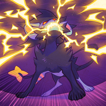 Luxray by pockyy
