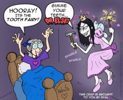 Orochi-Tooth Fairy by darkwater-pirate
