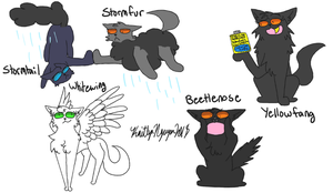Warriors Cats Names Taken Literally 4 by bestsk8eva