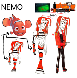 REQUEST: Nemo humanized by SUP-FAN