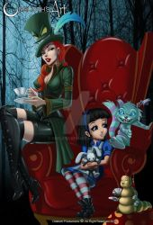 Alice in the twisted land by odeloth