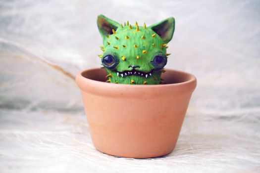 cactus cat by da-bu-di-bu-da