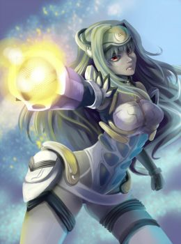 KOS-MOS R-CANNON by glance-reviver