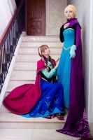 FROZEN cosplay by kammael