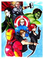 Assemble.. and stuff.. by incaseyouart