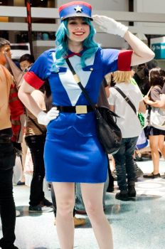 Officer Jenny cosplay by one-more-miracle