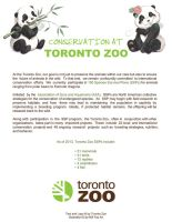 Conservation At Toronto Zoo by artofMilica