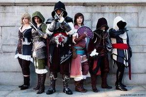 Thief,Smuggler,Ezio,Courtesan,Prowler,Novice by NYCAssassin