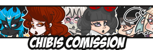 Chibis Comission TEXTS by ThePeten