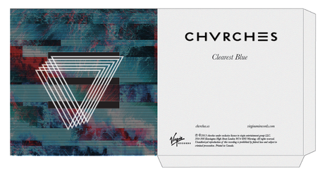 Clearest Blue by Chvrches Cover Album by sorett