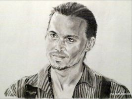 Johnny Depp - Roux 2 by shaman-art