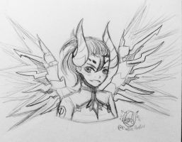 Devil Mercy by FirePokeMaster