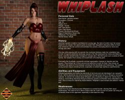 Whiplash Character Profile by Dangerguy01