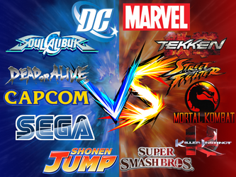 The Ultimate 'VS' Fighter Game by Fiercedeity1770