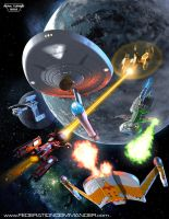 Federation Commander: Reinforcements Attack cover by Adam-Turner