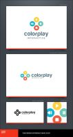 Color Play Logo Template by LogoSpot