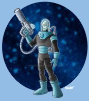 Batman animated MR. FREEZE by Chadfuller
