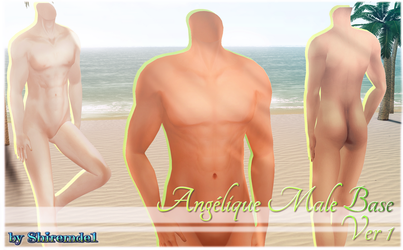 Angelic Male Base_Ver. 1 for MMD Download by Shiremide1