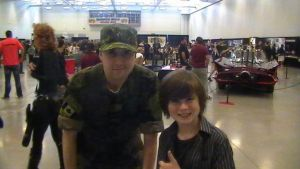 The Walking Dead : Chandler Riggs by TheWarRises