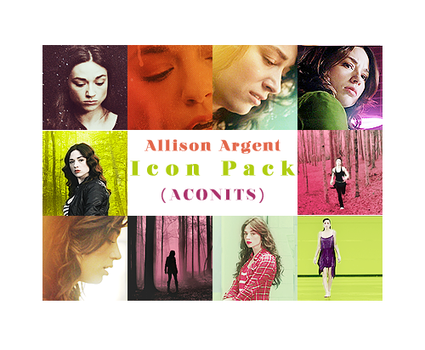 Allison Argent Icon Pack by VMari