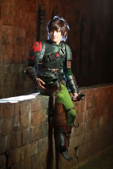 Hiccup Cosplay - How To Train Your Dragon 2 by liui-aquino
