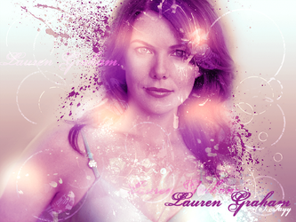 Lauren Graham. by ohemjayy