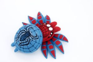 Spiderman as spider by hontor