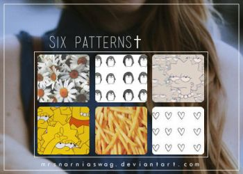Six Patterns 'Alive' by MrsNarniaSwag
