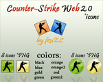 Counter-Strike Web 2.0 Icons by f0xEL