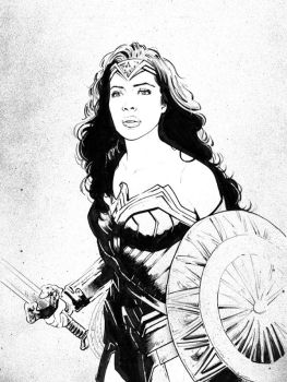 Wonder Woman by jasonbaroody