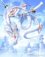 White Dragon by MisaTsutsui