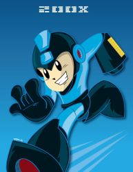MegamanTribute: 200X Rocks by ToferVs