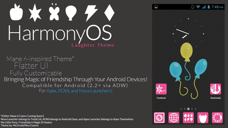 HarmonyOS Laughter (Pinkie Pie) Theme by NicDroidPH