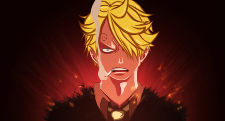 One Piece - Sanji angry by TaKa-No-Mi