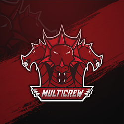 Mascot logo for MULTICREW CSGO TEAM! Order yours! by Qeesec